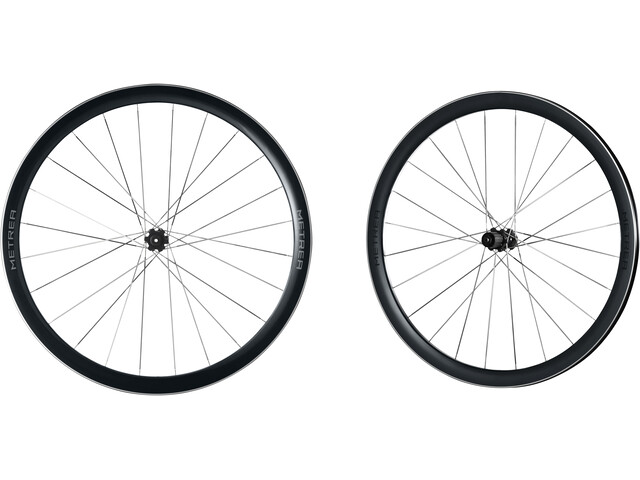 Shimano Metrea WH-U5000 QR Centerlock sort (2019) | City-cykler
